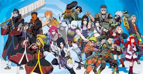 Pick the Characters from Naruto Quiz