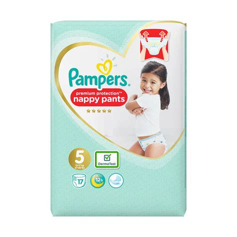 Buy Pampers Active Fit Pants Size 5 17 Nappies | Chemist