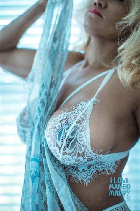 Bulging White Lace – Mango Maddy Official Site