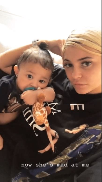 Kylie Jenner makes daughter Stormi Webster 'mad' and it's