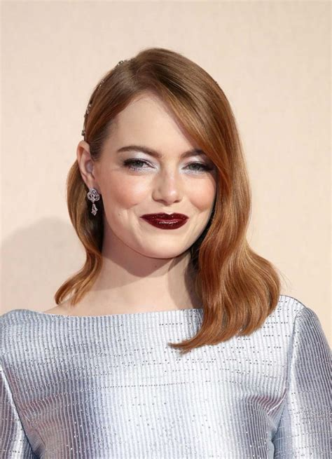 Emma Stone at The Favourite Premiere During the 62nd BFI
