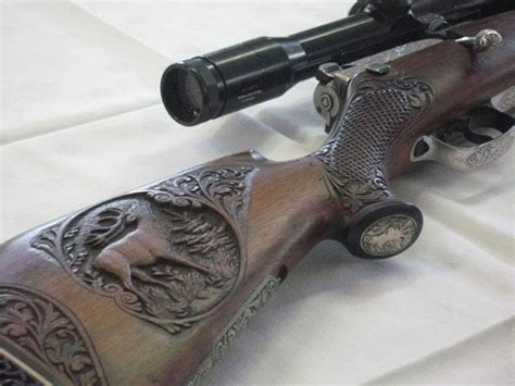 Gun of the Day – Engraved Stock - Gears of Guns