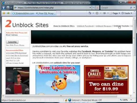How to Unblock Sites - YouTube