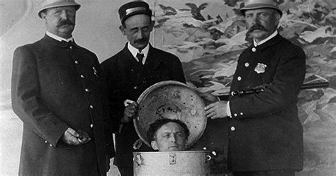 WILD ABOUT HARRY: Houdini's Milk Can escapes