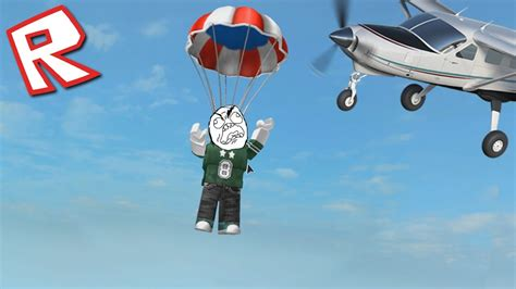 Roblox - Escape The Gym!! | SKYDIVING WITHOUT A PARACHUTE