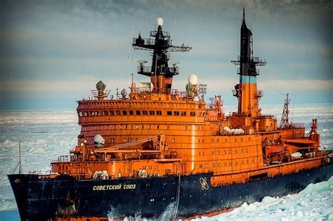 Russian Atomic Ice Breakers Up Close - English Russia