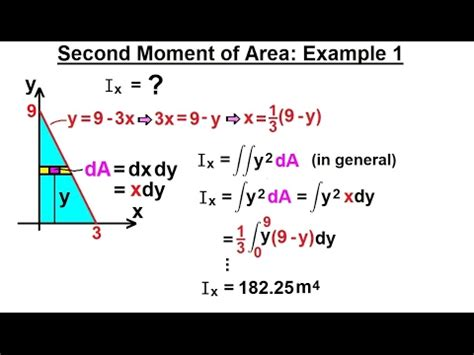 Mechanical Engineering: Ch 12: Moment of Inertia (12 of 97