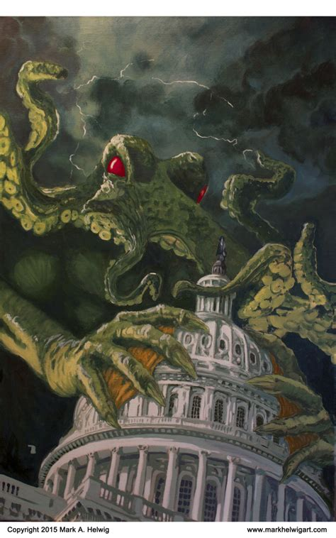 [Cthulhu s'attaque au Capitole] At the Mountain of Madness