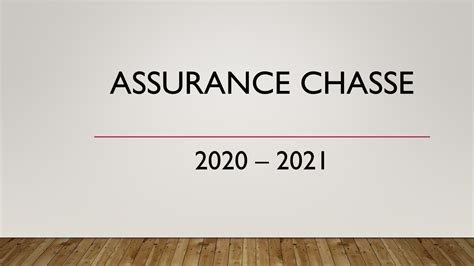 ASSURANCE CHASSE 2020 2021 - FDC 42