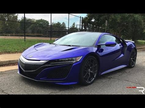 2018 Acura NSX – A Supercar That Will [Literally] Sneak Up