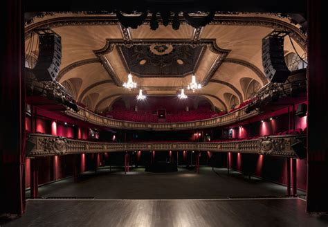 The Beautiful Symmetry of Grand Theaters Captured from