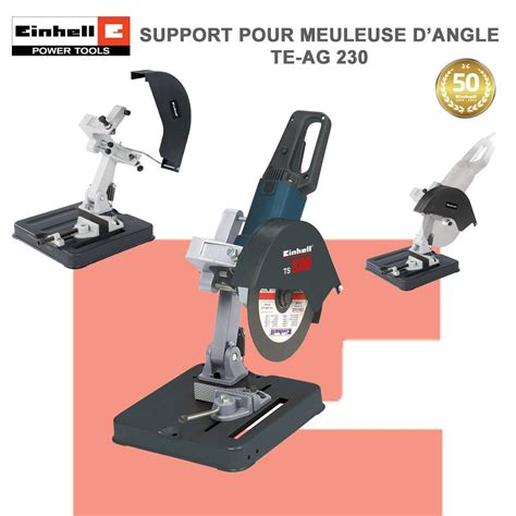 Support pour meuleuse 230 Einhell