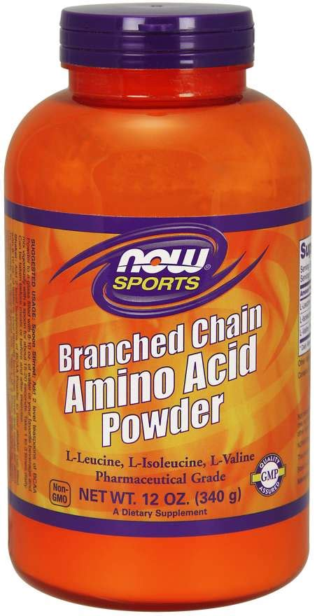 Branched Chain Amino Acid Powder | NOW Foods