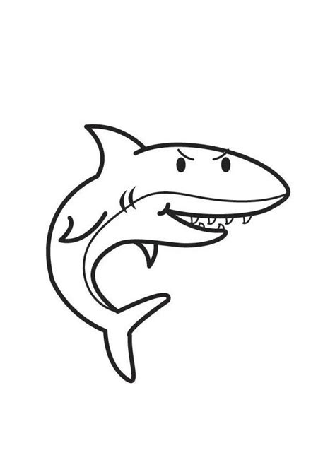 Coloriage Requin - img 17945