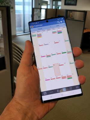 Sync Galaxy Note 10+ with Microsoft Outlook