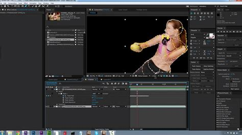 Comparing The After Effects Mask Tracker and mocha AE CC