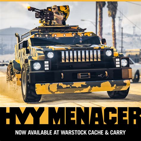 GTA ONLINE Gets A New Armored Vehicle Called HVY Menacer