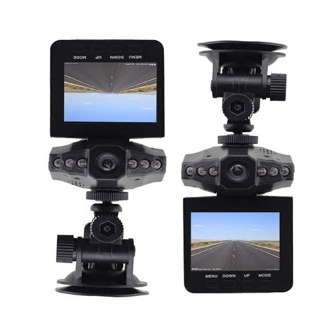 Caméra Full HD DVR pour voiture 6 leds infrarouge passif