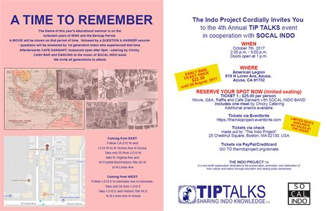 A TIME TO REMEMBER – EDUCATIONAL SEMINAR - 7 Oct