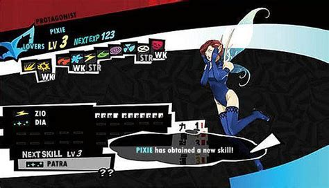 Persona: Pixie Stats and Skill List [Persona 5/ P5