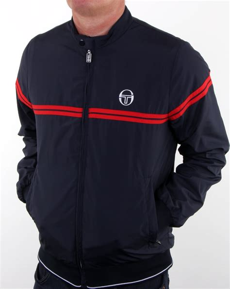 Sergio Tacchini Supermac Track Top Navy/red, Men's, Top