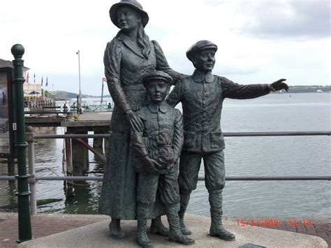 MV FRAM EXPEDITION BLOG: Cobh - on the footsteps of the
