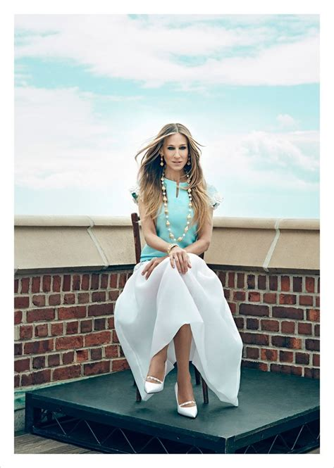 Sarah Jessica Parker for anaZahra Magazine by An Le