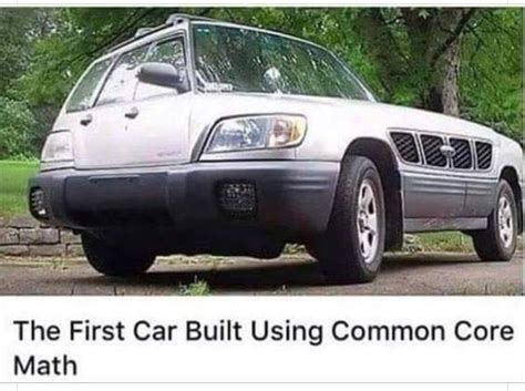 Pin by Amy T on Funny Ha Ha | Car, Car humor, Common core math