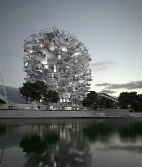 In France, A Striking Pine Cone-Shaped Building With