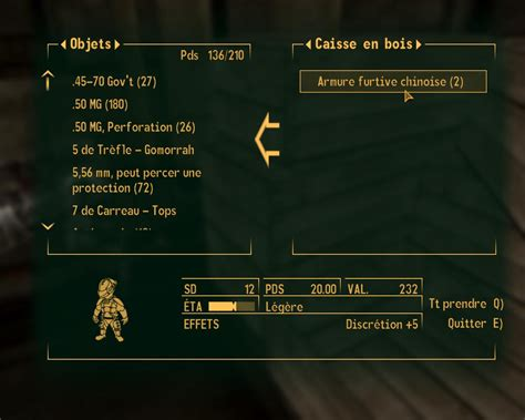Armures - Soluce Fallout New Vegas   SuperSoluce