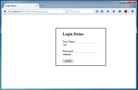 How create  and logout program in JAVA and JSP by